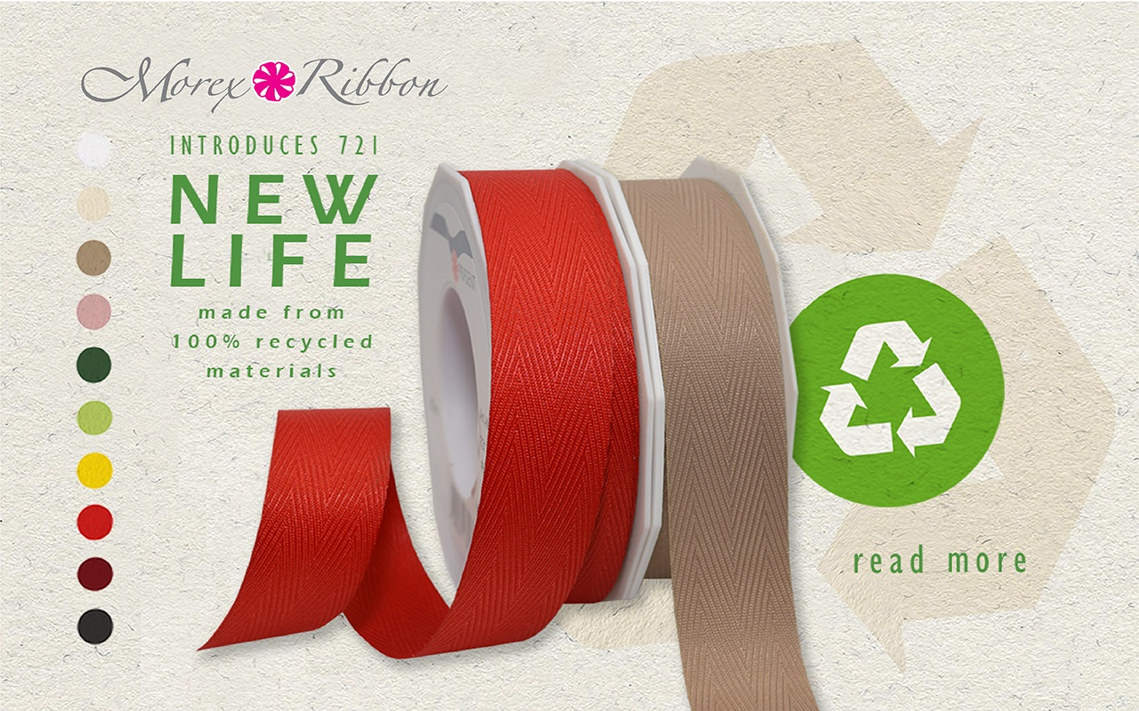 New Life Eco Friendly Ribbon