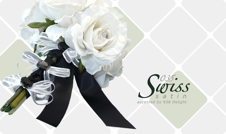 Swiss Satin ribbon image